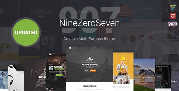 907 Theme Responsive Multi-Purpose