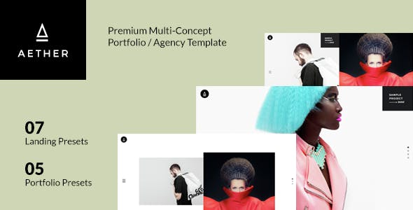 AETHER Enjoyable Muliti Concept WordPress Theme