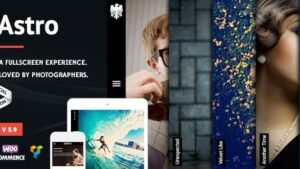 Astro Photography WordPress Theme