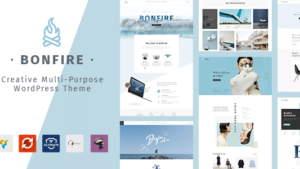 Bonfire Creative Multipurpose WordPress Theme