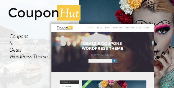 CouponHut Coupons & Deals WordPress Theme