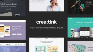 Creatink - Multi-Concept Responsive WordPress Theme latest version download