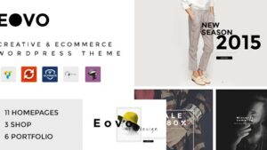 EOVO - Creative & eCommerce WordPress Theme
