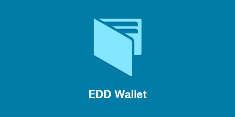 Easy Digital Downloads Wallet Addon