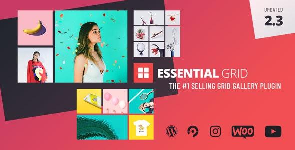 Essential Grid Gallery WordPress Plugin