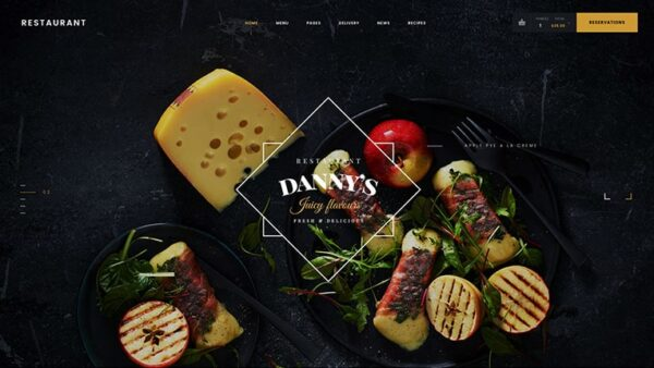 Restaurant Dannys WordPress Theme