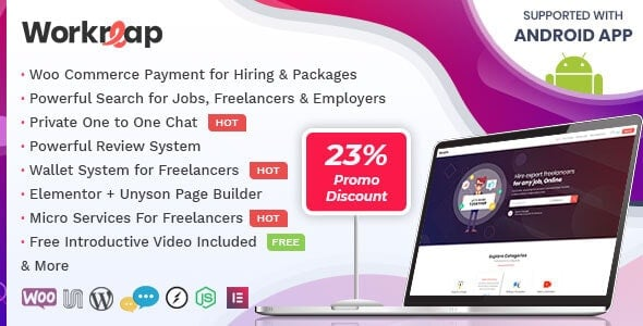 Workreap - Freelance Marketplace WordPress Theme