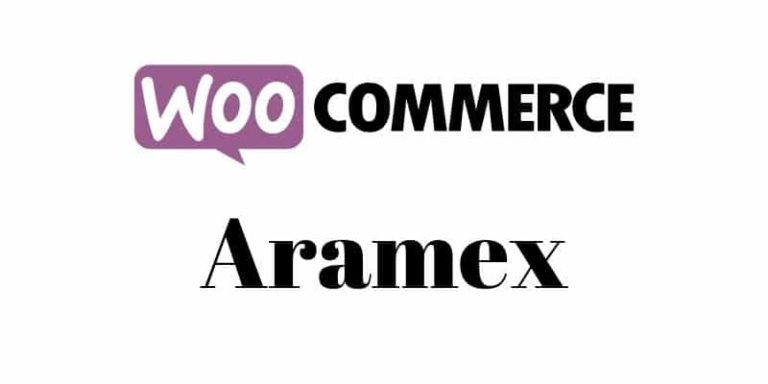 woocommerce shipping aramex