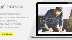 Endeavor Multipurpose IT digital Company WordPress Theme