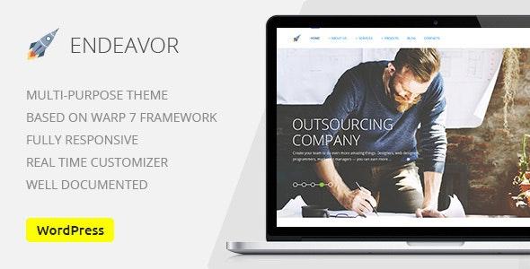 Endeavor Multipurpose IT digital Company WordPress Theme