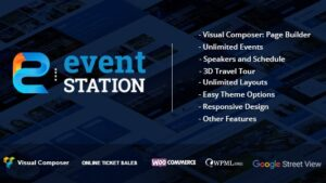 Event Station Event and Conference WordPress Theme