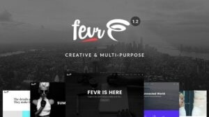Fevr Creative MultiPurpose Theme