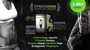 Fitness Zone Gym Theme