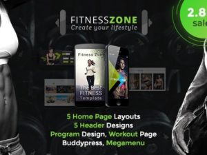 Fitness Zone Gym Theme