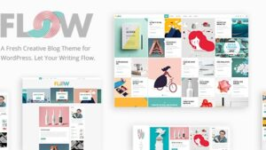 Flow - Creative Blog Theme