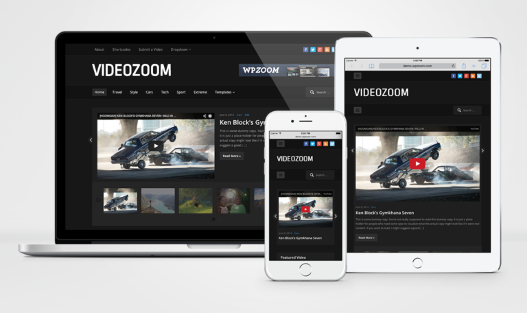 WPZoom Videozoom WordPress Theme