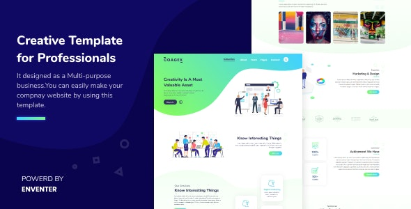 Coagex Creative Agency Template