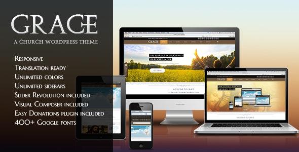 Grace - Religion WordPress Theme