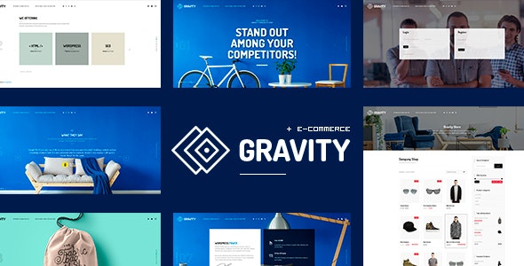 Gravity - ECommerce, Agency & Presentation Theme