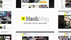 HashMag - Magazine & News Theme