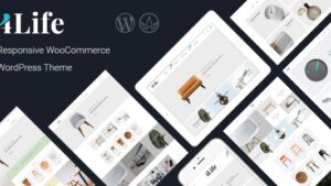 JMS 4Life Responsive WordPress Theme