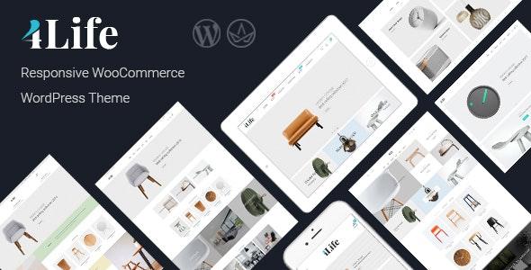 JMS 4Life Responsive WordPress Theme