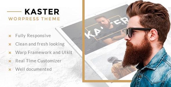Kaster Creative portfolio WordPress Theme