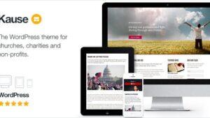 Kause Multi Purpose WordPress Theme
