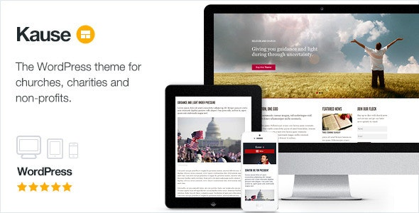 Kause Multi Purpose WordPress Theme