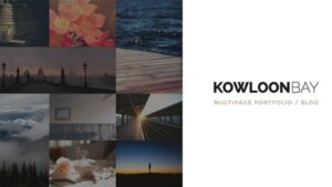 KowloonBay Multipage Portfolio Blog WP Them