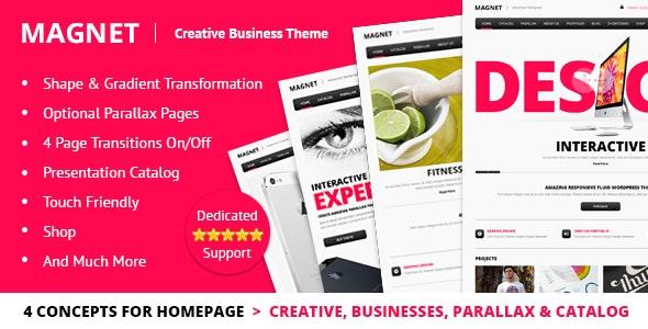 MAGNET Creative Business WordPress Theme