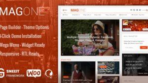 MagOne Responsive Magazine & News WordPress Theme