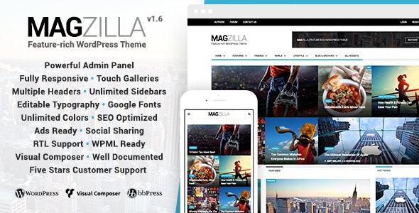 MagZilla For Newspapers Magazines and Blogs