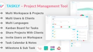TASKLY Project Management Tool latest version download