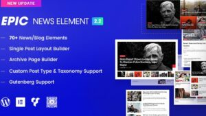 Epic News Elements latest version download