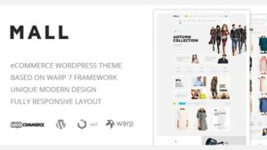 Mall Clean Multi-Purpose WooCommerce Responsive WordPress Theme