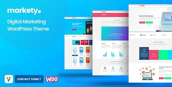 Markety SEO & Digital Marketing WordPress Theme