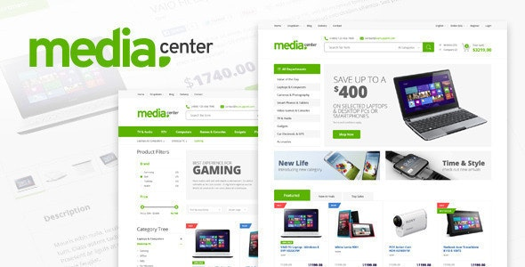 MediaCenter 2.7.16 Electronics Store WooCommerce Theme latest version download