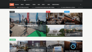Domino Magazine Theme by WPZoom