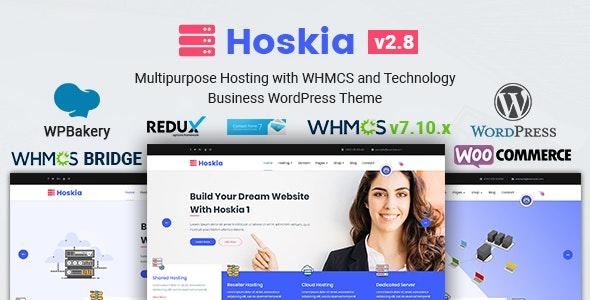 Hoskia Multipurpose Hosting with WHMCS Theme