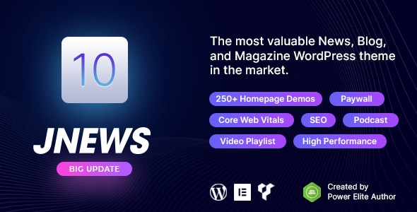 JNews WordPress Newspaper Magazine Blog AMP Theme JNews 10