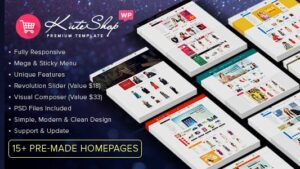 KuteShop Fashion Electronics & Marketplace WooCommerce Theme