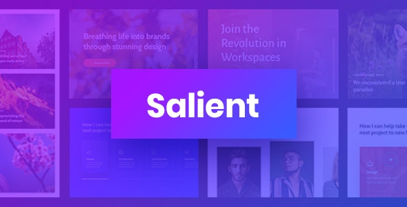 Salient Responsive Multi-Purpose Theme