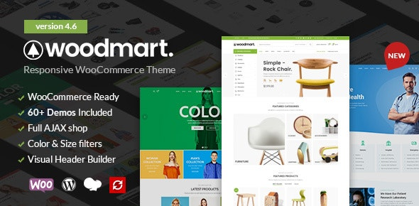 WoodMart Responsive WooCommerce WordPress Theme