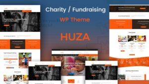 Huza Charity Responsive WordPress Theme