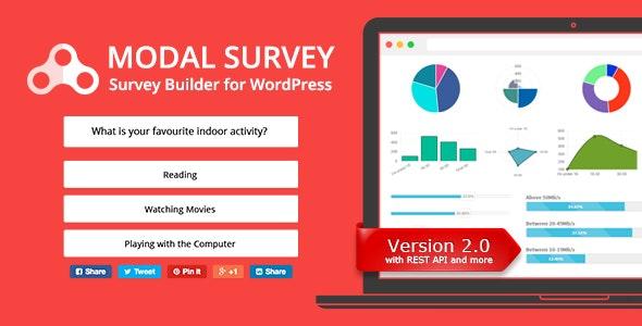 Modal Survey WordPress Poll Survey & Quiz Plugin