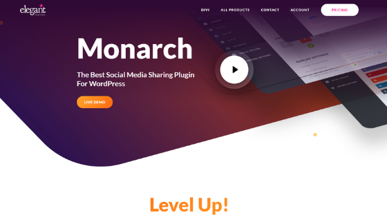 Monarch Elegant Themes Social Media Sharing Plugin latest version download