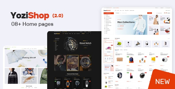 Yozi Multipurpose Electronics WooCommerce WordPress Theme