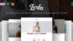 ZORKA Wonderful Fashion WooCommerce Theme - WooCommerce eCommerce