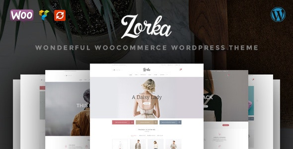 ZORKA Wonderful Fashion WooCommerce Theme - WooCommerce eCommerce